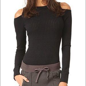 LNA cutout shoulder bodysuit